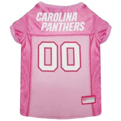 online store f04e9 81273 NFL Pets First Pink Pet Football Jersey - Carolina Panthers
