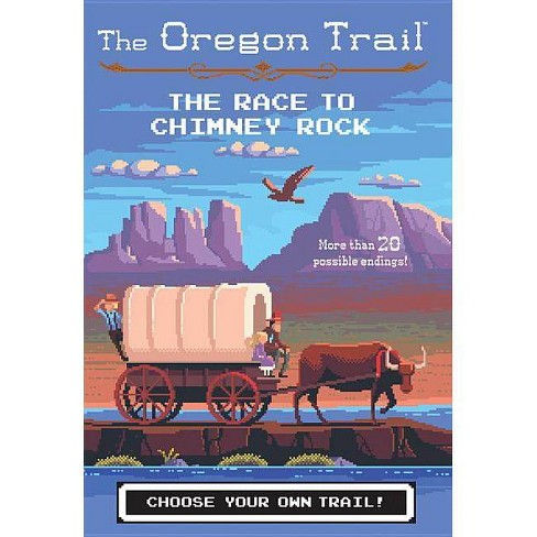 The Race to Chimney Rock - (Oregon Trail) by  Jesse Wiley (Paperback) - image 1 of 1