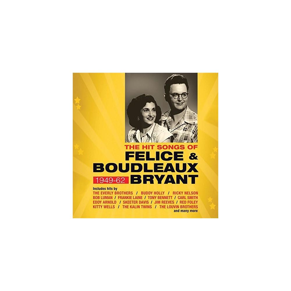 Various - Hit Songs Of Felice & Boudleaux Bryan (CD)