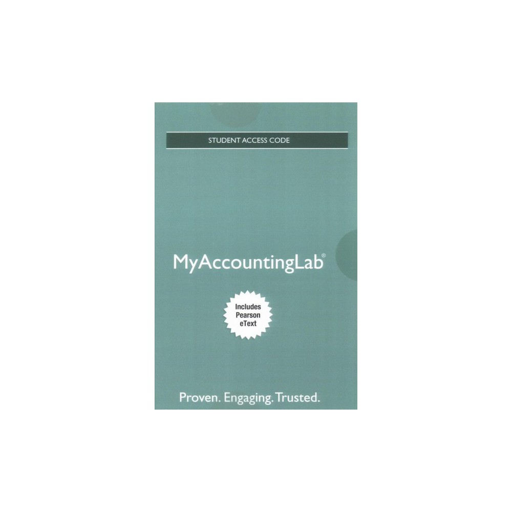 Myaccountinglab + Pearson Etext Access Card for Horngren's Accounting (Hardcover) (Tracie L.