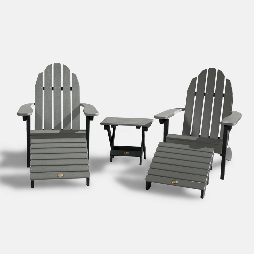 Mountain Bluff Essential Patio Seating Set - Gray - Elk Outdoors