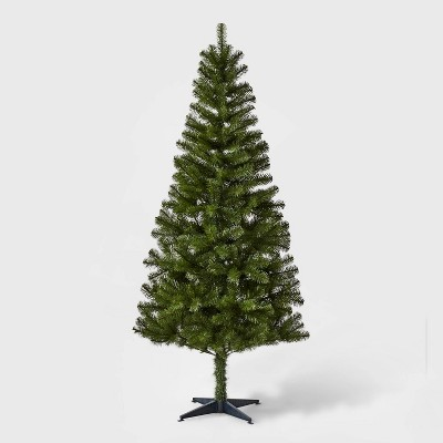 6ft Unlit Artificial Christmas Tree Alberta Spruce - Wondershop™