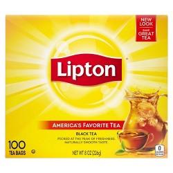 Lipton Black Tea Bags - 100ct