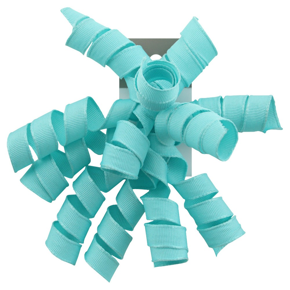 Image of Curly Bow Light Blue - Spritz