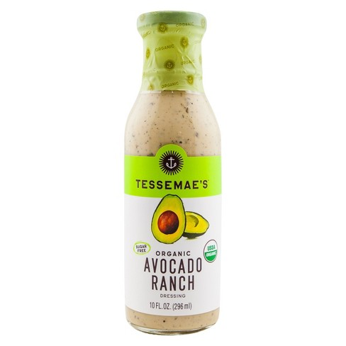 Tessemae's All Natural Organic Avocado Ranch 10 oz - image 1 of 1