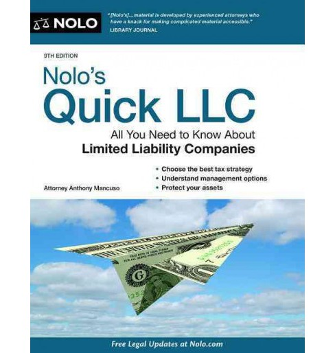 Nolo's Quick LLC (Paperback) (Anthony Mancuso) - image 1 of 1