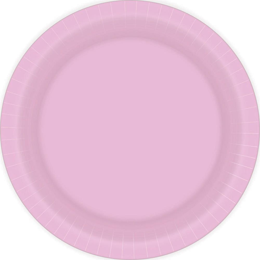 Disposable Plates Pink - Spritz