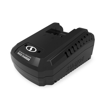 Snow Joe 24VCHRG-QC iON+ Quick Charge Dock for iBAT24 and 24VBAT Series Batteries.