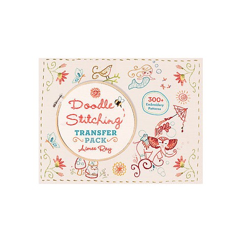 Doodle Stitching Transfer Pack 300 Embroidery Patterns Paperback