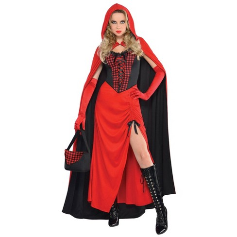 Women's Riding Hood Enchantress Halloween Costume - image 1 of 1