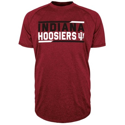 NCAA Indiana Hoosiers Men's Short Sleeve Performance T-Shirt