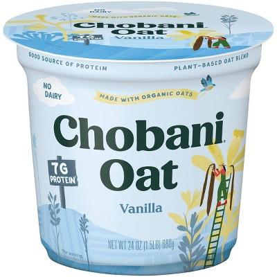 Chobani Oat Vanilla Yogurt - 24oz