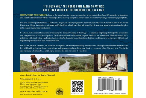 I'll Push You : A Journey of 500 Miles, Two Best Friends, and One Wheelchair - Unabridged (CD/Spoken - image 1 of 1