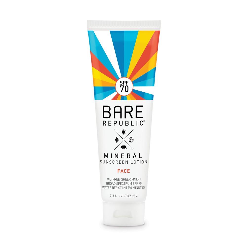 Image of Bare Republic Mineral Face Sunscreen - SPF 70 - 2 fl oz