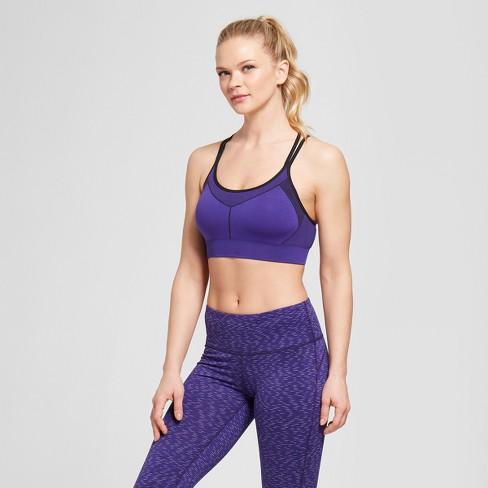 65dea22b430a0 Women s Seamless Strappy Cami Sports Bra - C9 Champion®   Target