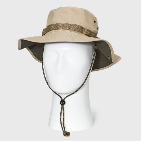 db092de3d5 Men s Ripstop Bonnie Floppy Hat - Goodfellow   Co™ Khaki   Target
