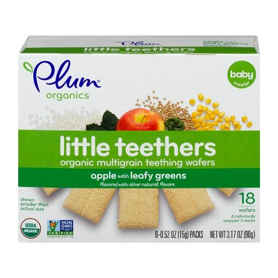 Baby & Toddler Snacks: Plum Organics Little Teethers