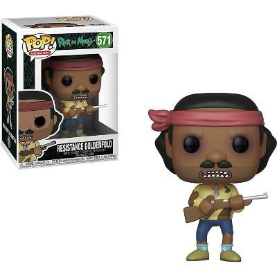 Funko POP! Rick and Morty Resistance Goldenfold Vinyl Figure