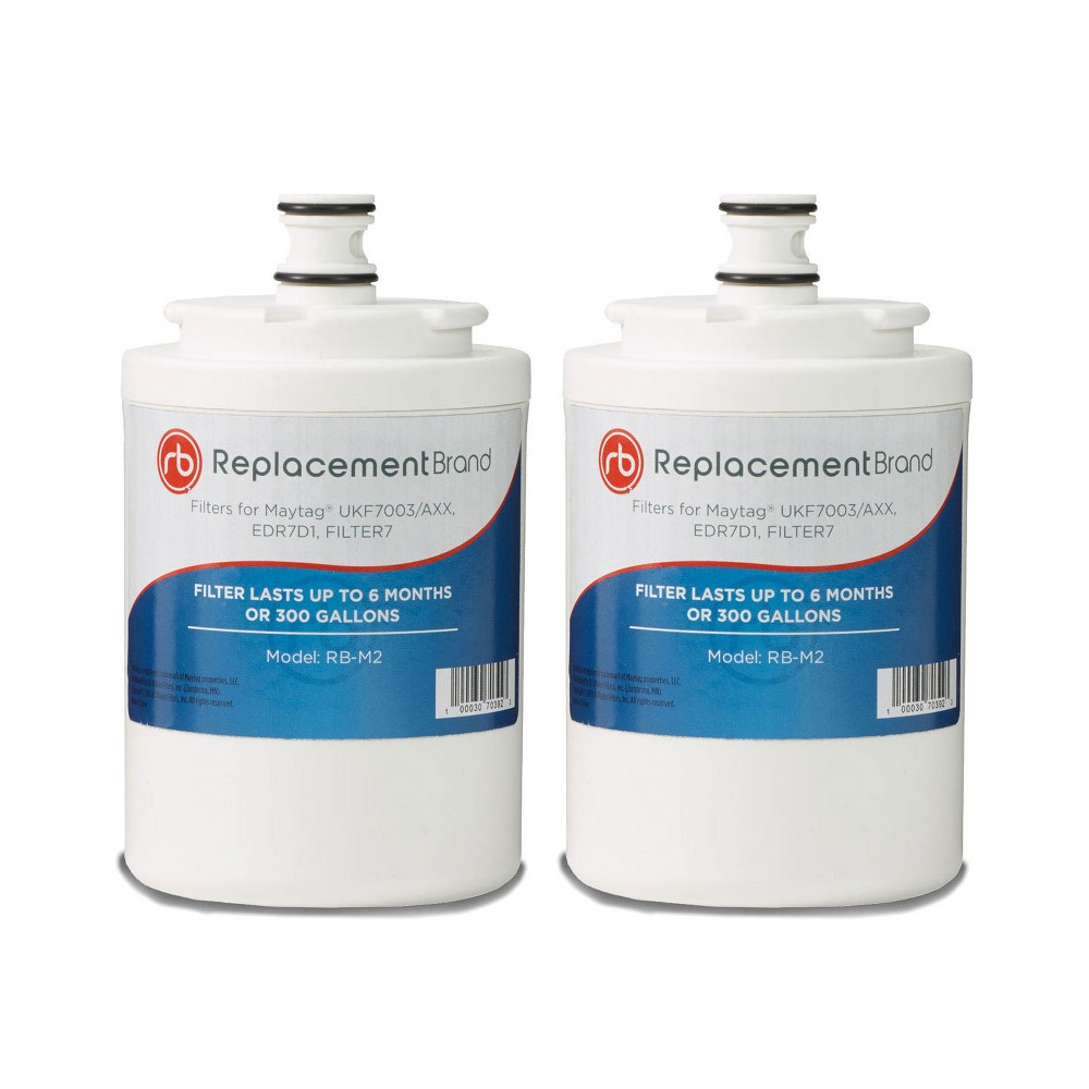 Maytag UKF7003 Comparable Refrigerator Filter (2pk), White