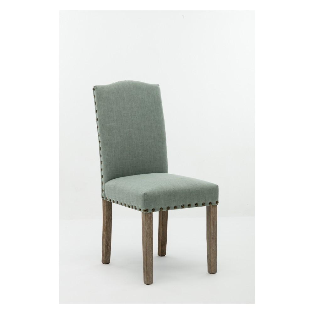 Shawna Dining Chair Green (Set of 2) - Boraam
