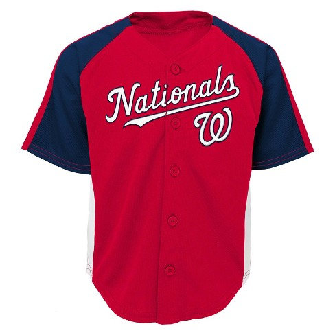 best sneakers 29c2c c4d73 Washington Nationals Boys Infant/Toddler Team Jersey - 2T