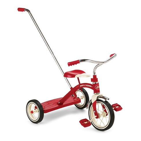 Radio Flyer® Classic Tricycle with Push Handle - Red - image 1 of 7