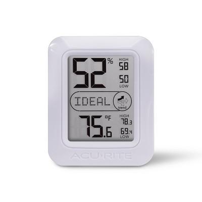 Indoor Humidity and Temperature Comfort Monitor - AcuRite
