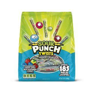 Sour Punch Assorted Flavor Twists - 37oz
