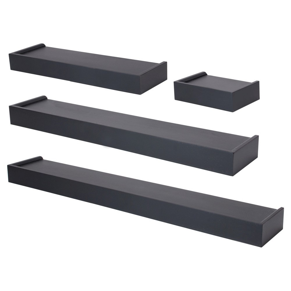 Vertigo Ledge Set of 4 - Black