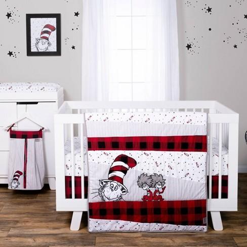 Dr Seuss Lumberjack Cat In The Hat 5, Dr Seuss Crib Bedding