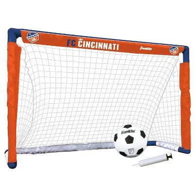 MLS FC Cincinnati Size 1 Mini Soccer Goal Set