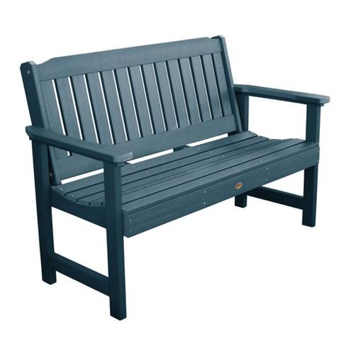 Astounding 5 Lehigh Garden Bench Nantucket Blue Highwood Machost Co Dining Chair Design Ideas Machostcouk