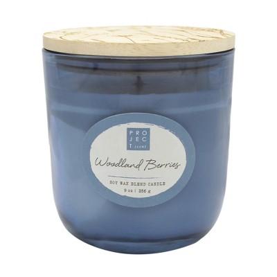 9oz Lidded Glass Jar Candle Woodland Berries - Chesapeake Bay Candle