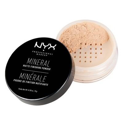 NYX Professional Makeup Mineral Matte Finishing Loose Powder - 0.28oz