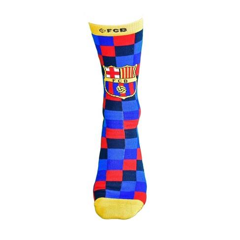 FIFA FC Barcelona Checkered Casual socks - image 1 of 4