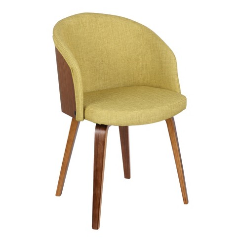 Alpine Mid-Century Dining Chair with Walnut Wood - Armen Living - image 1 of 7