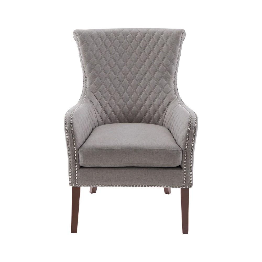 Kileen Accent Chair Light Gray