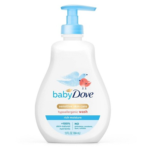 Baby Dove Rich Moisture Tip-to-Toe Wash - 13oz - image 1 of 4