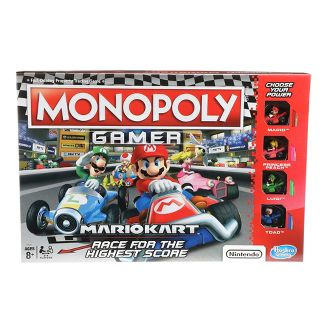Monopoly Nintendo Mario Kart Board Game