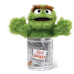 """Enesco Sesame Street 10"""" Plush: Oscar the Grouch"""