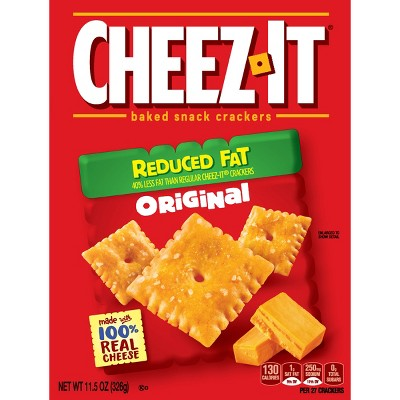 Crackers: Cheez-It Reduced Fat