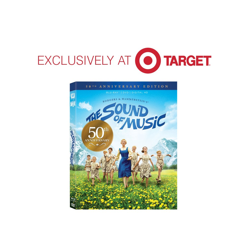 Sound of Music 50th Anniversary Edition(Blu-ray/Dvd/Digital)(Collectible Packaging) - Target Exclusive