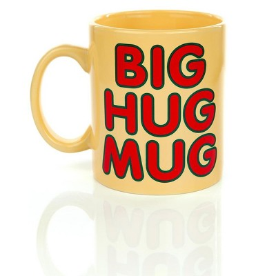 Just Funky Big Hug Mug 16oz Ceramic Coffee Mug