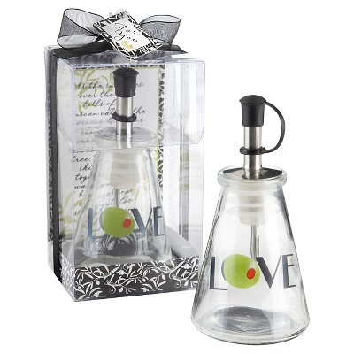 12ct Olive You! Glass LOVE Oil Bottle in Signature Tuscan Box