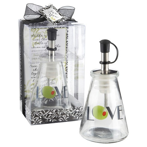 12ct Olive You! Glass LOVE Oil Bottle in Signature Tuscan Box - image 1 of 1