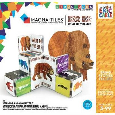 Magna-Tiles Eric Carle Brown Bear, Brown Bear