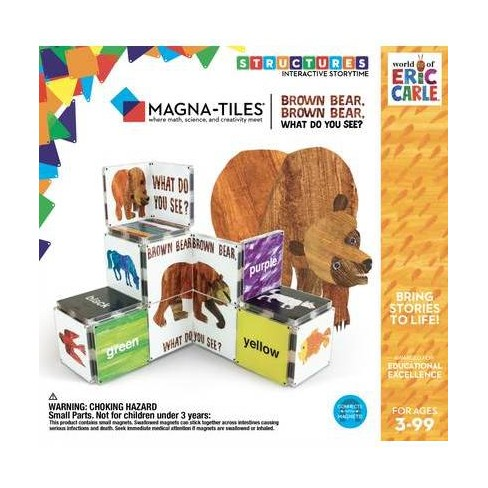 Magna-Tiles Eric Carle Brown Bear, Brown Bear - image 1 of 4