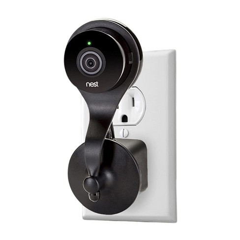 Wasserstein AC Outlet Wall Mount with 360 Degree Swivel for Google Nest Cam Indoor and Dropcam Pro - image 1 of 4