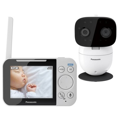 Panasonic KX-HN3001W Video Baby Monitor 3.5  - White