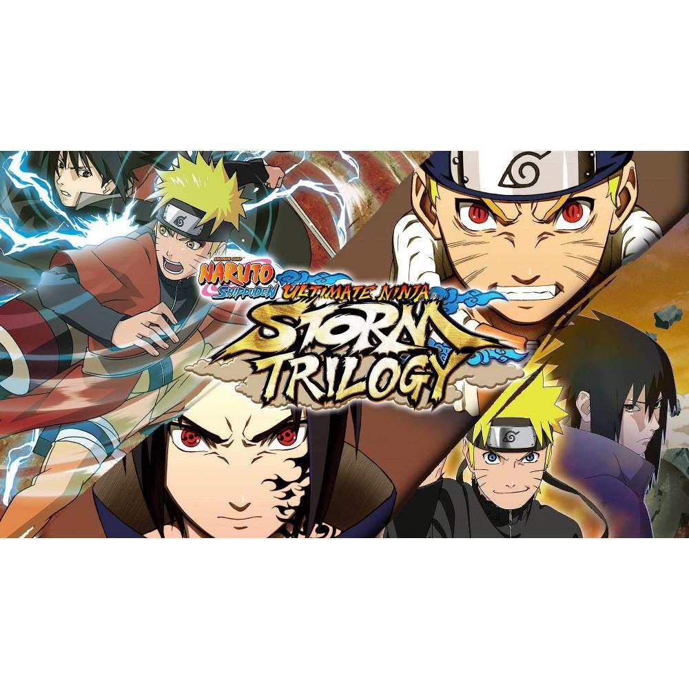 Naruto Shippuden Ultimate Ninja Storm Trilogy Nintendo Switch Digital
